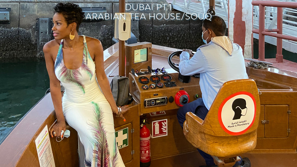 Hey Lady💋DUBAI Part 1. -Arabian Tea House and the Old Souks