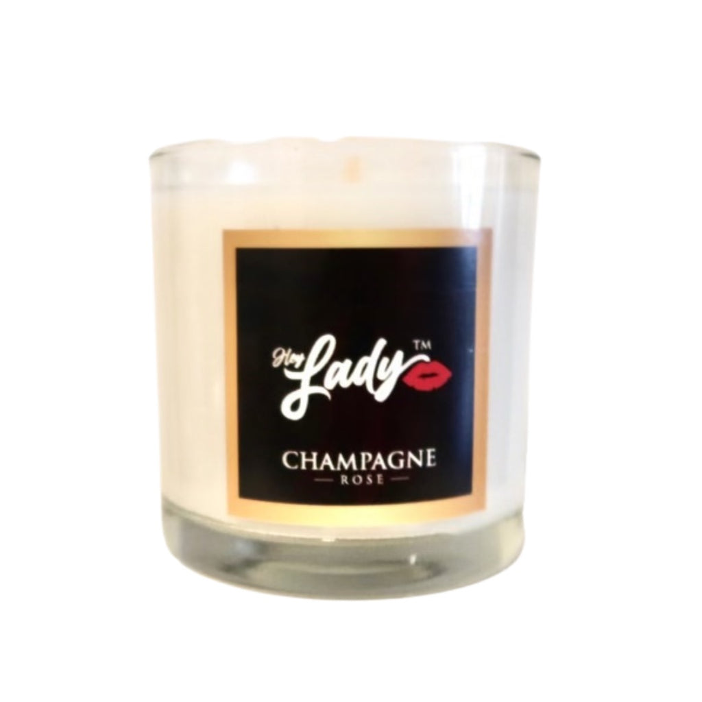 Hey Lady💋™  Champagne Rose Candle