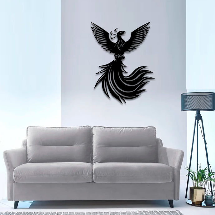 Phoenix Metal Wall Art -27.55