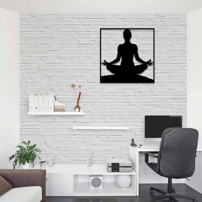 Meditation Zen Metal Wall Art -19.68