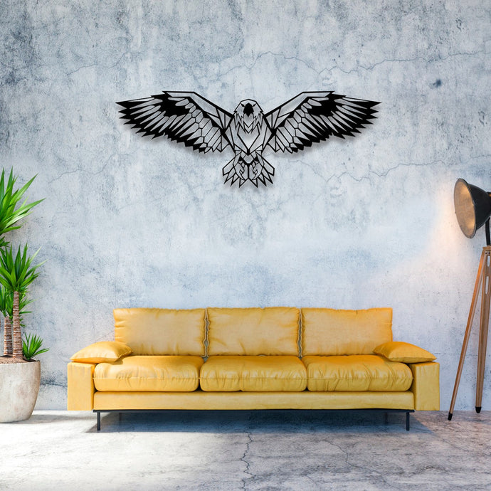 Eagle Metal Wall Art -39.37
