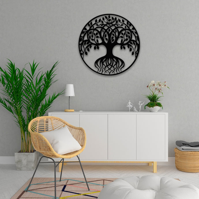 Tree Of Life Metal Wall Art -19.68