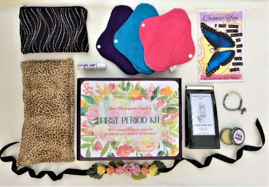 Wildflower First Period Kit (Reusable Pads)