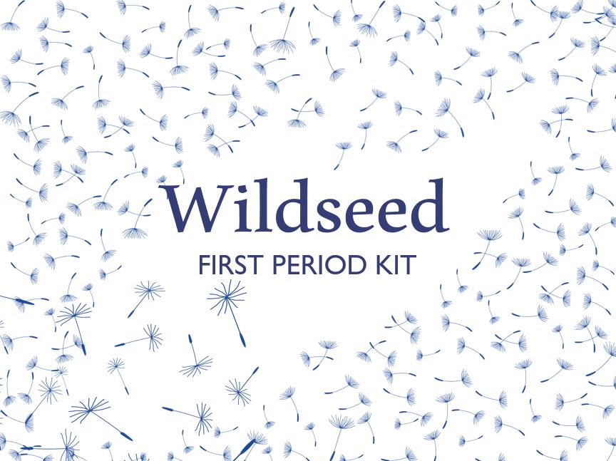 Wildseed First Period Kit (with Reusable Pads) Neutral, Non-Binary, Trans