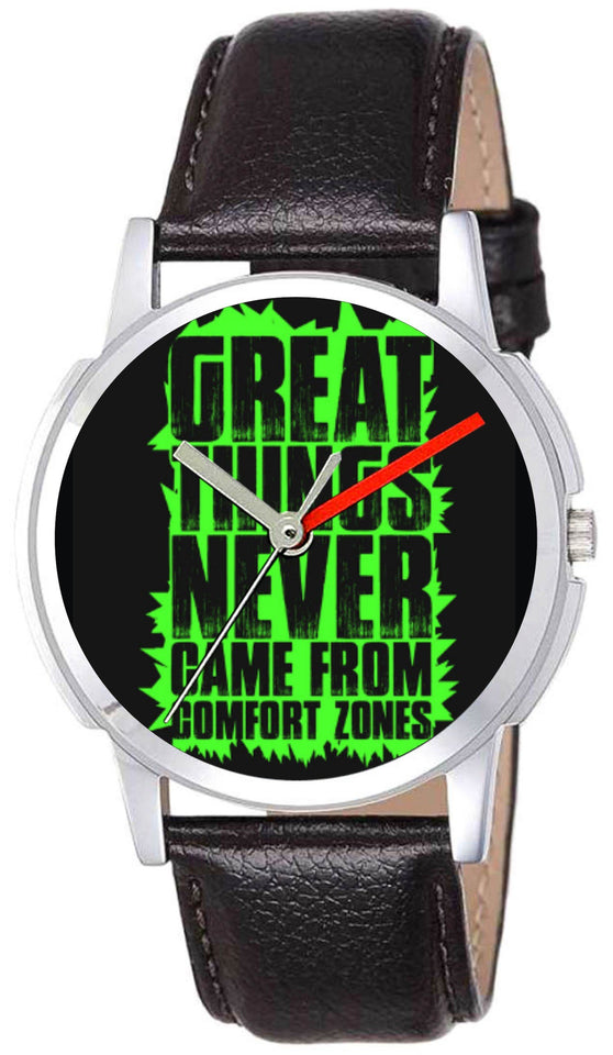 Great Things Never Came From Comfort Zones Trends Watch For Mens