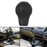 Cartronics Anti-scratch Bump Shift Knob Protective Cover (Black)
