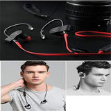 Drumstone QC-10 Bluetooth Wireless for Mobile Phone Sports Stereo Jogger,Running,Gyming Bluetooth Headset Compatible with All Devices