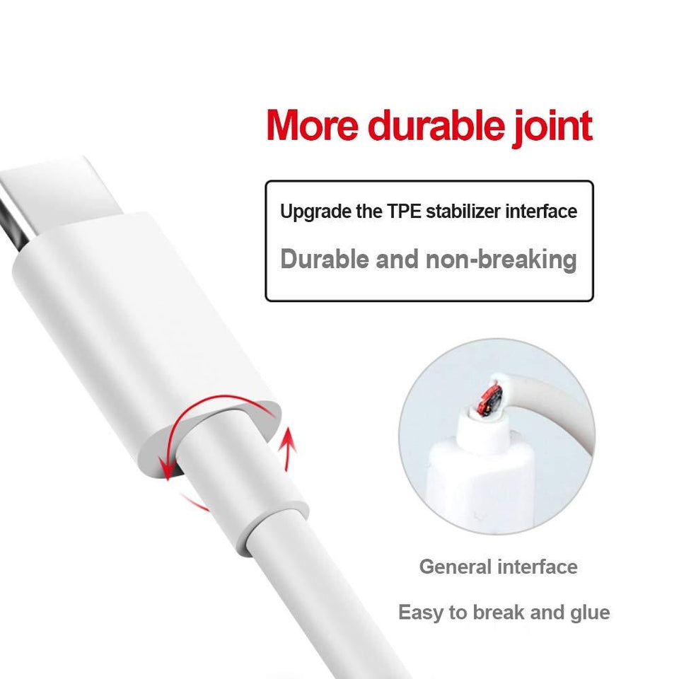 Drumstone  USB Type-C to USB-A 2.0 Male Charging & Sync Cable for All Type C Supporting Smartphones