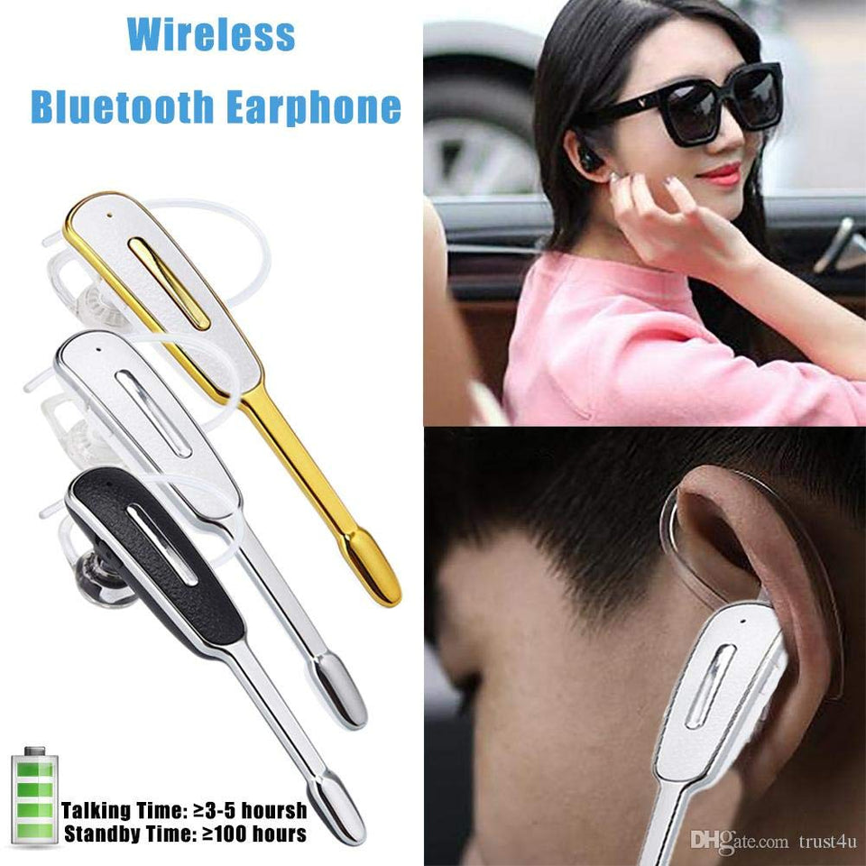 Drumstone ireless Bluetooth HM1000 V4.0 in Ear Headset with Mic Multimedia Mono 4.1 Noise Cancellation, Hands-Free for All Latest Android Smartphones