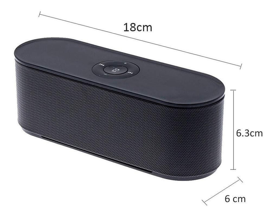 Drumstone S207 Multifunction Portable Wireless Bluetooth Speaker Best Sound Quality, High Extra Bass with Mic, FM Radio, AUX, Micro Sd Card,USB
