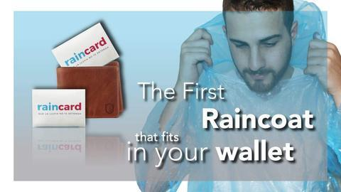 Wallet Size RainCoat Card