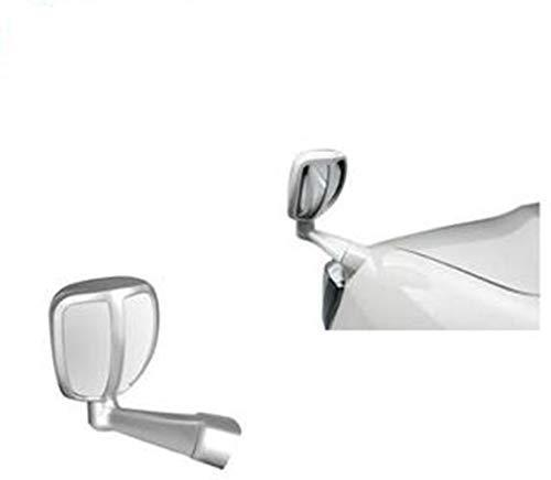 Cartronics Front Fender SUV Wide Angle Mirror for All Cars (Silver)