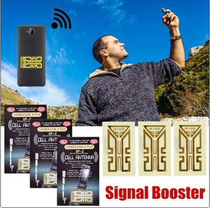 Cell Phone Signal Enhancement Stickers - 10PCs