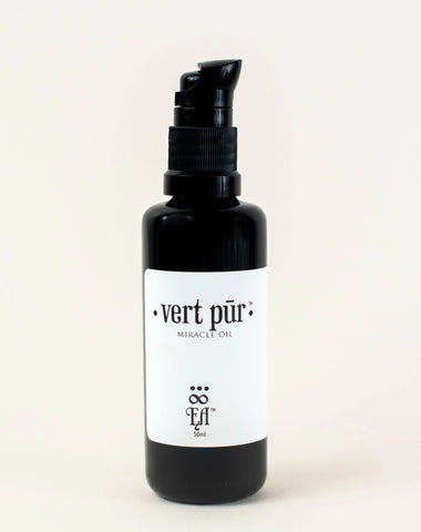 vert pur miracle oil | hemp skin oil with aloe and kakadu plum