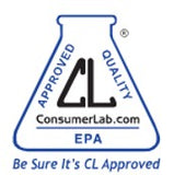 Consumer Lab Approved Seal