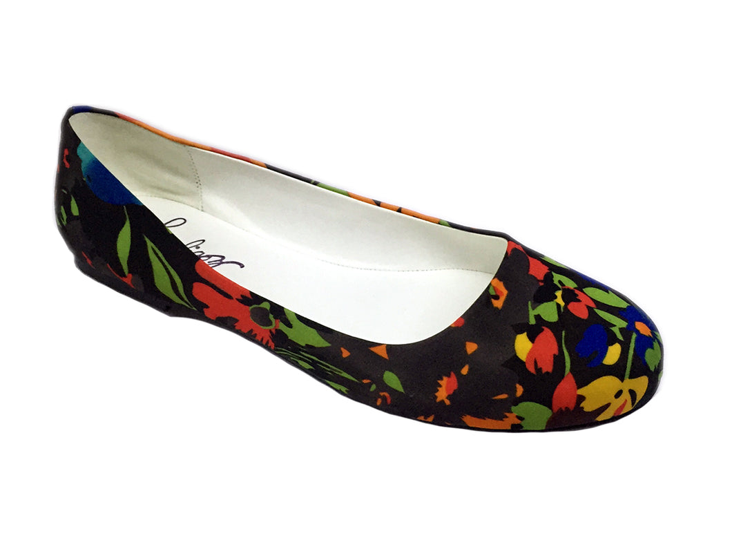 Multi Color Floral Flat