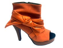 Load image into Gallery viewer, Burnt Orange Slouch Bootie