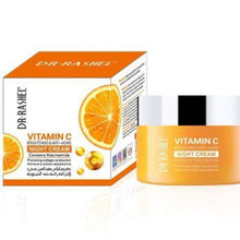 Load image into Gallery viewer, Vitamin C Brightening and Anti-Aging night cream +D6C7 :C8