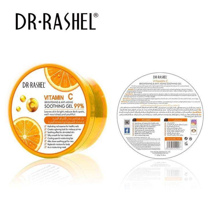 Dr Rashel Vitamin C Brightening and Anti-Aging Soothing Gel