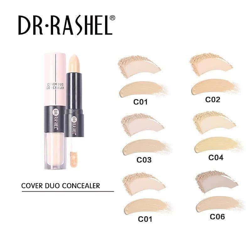 Cover Duo Concealer 2 in 1 Matte Stick & Illuminating Liquid