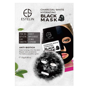 Dr Rashel Estelin Charcoal White Hydrating Black Mask
