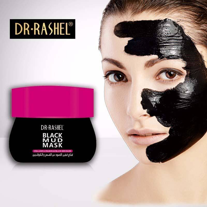 Dr.Rashel Collagen & Charcoal Black Mud Mask For Whitening