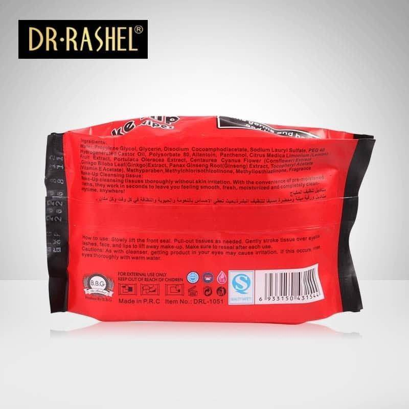 Dr.Rashel Collagen Make Up Cleansing Wipes With Lotus Extract