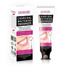 Load image into Gallery viewer, Dr.Rashel Charcoal Whitening Toothpaste