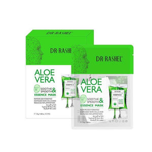 Dr.Rashel Aloe Vera Soothe & Smooth Essence Mask - (Each)