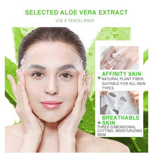 Load image into Gallery viewer, Dr.Rashel Aloe Vera Soothe & Smooth Essence Mask - Pack Of 5