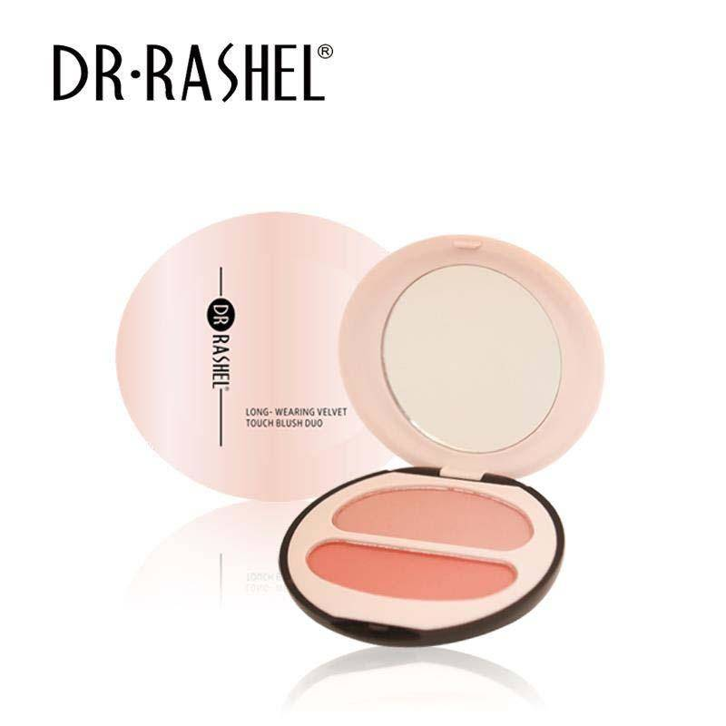 Dr.Rashel Long Wearing Velvet Touch Blush Duo