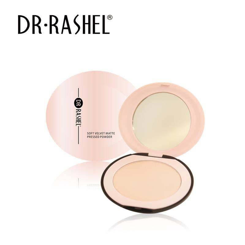 Dr.Rashel Soft Velvet Matte Pressed Powder