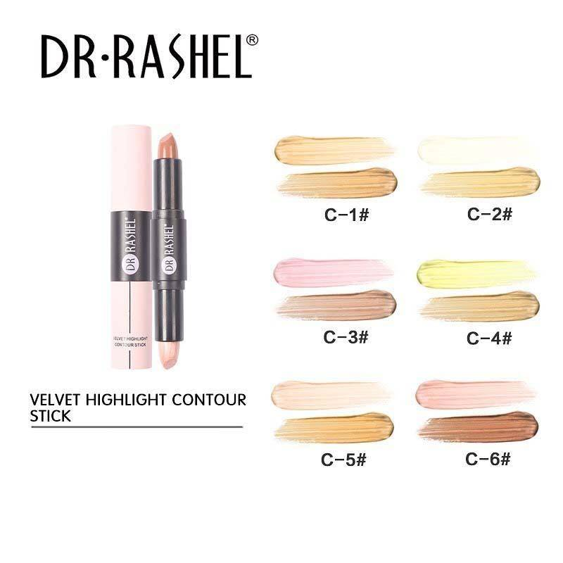 Dr.Rashel Velvet 2 in 1 Highlight Contour Stick
