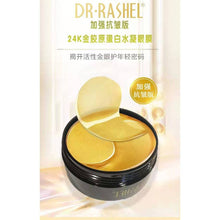 Load image into Gallery viewer, Dr.Rashel 24k Gold Collagen Hydrogel Eye Mask