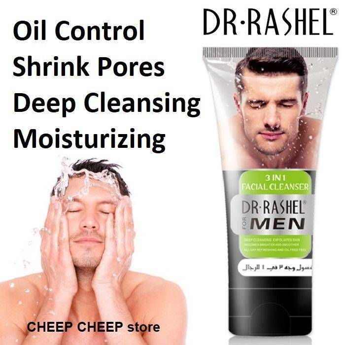Dr.Rashel 3 In 1 Facial Cleanser For Men