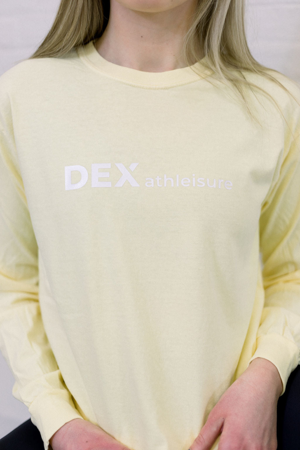 Unisex Long Sleeve Logo Tee