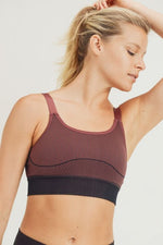 Load image into Gallery viewer, Mermaid Hybrid Seamless Sports Bra