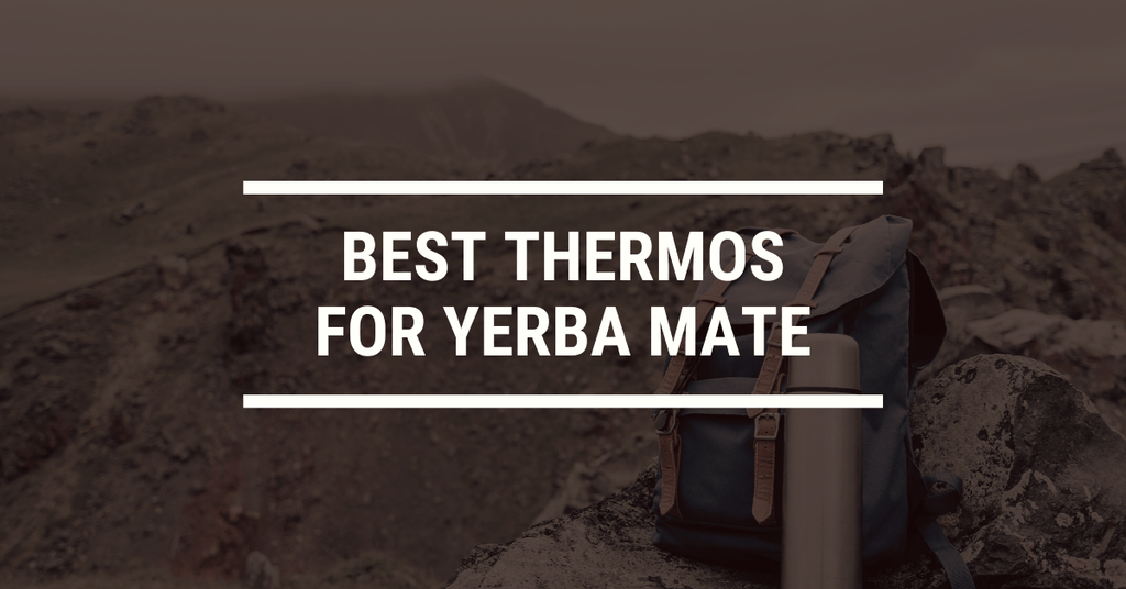 The Best Insulated Drink Bottle / Thermos for Yerba Mate