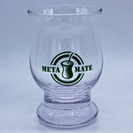 Hand-blown 6oz Glass Mate Cup for Tereré