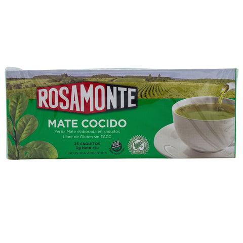 Rosamonte Mate Sachets - 25 count