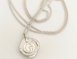 Personalised necklace - 75cm chain length