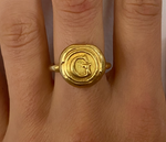 Load image into Gallery viewer, 24K Gold Plated Personalised ring