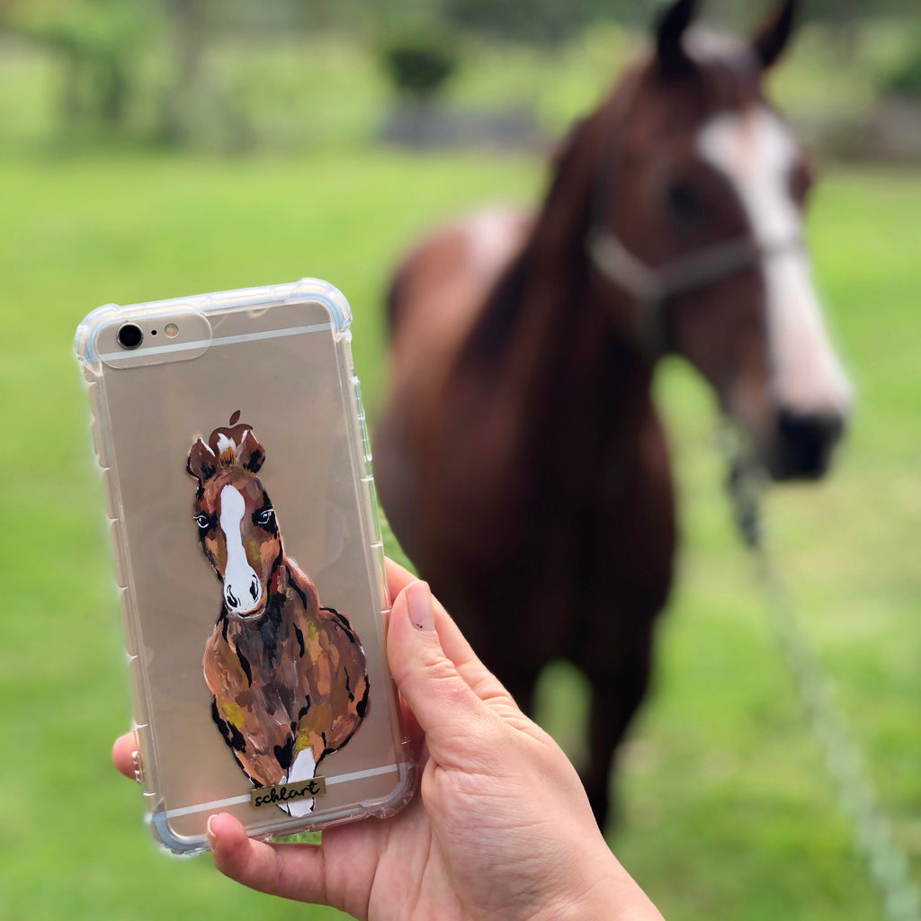 Cartoon Horse Case
