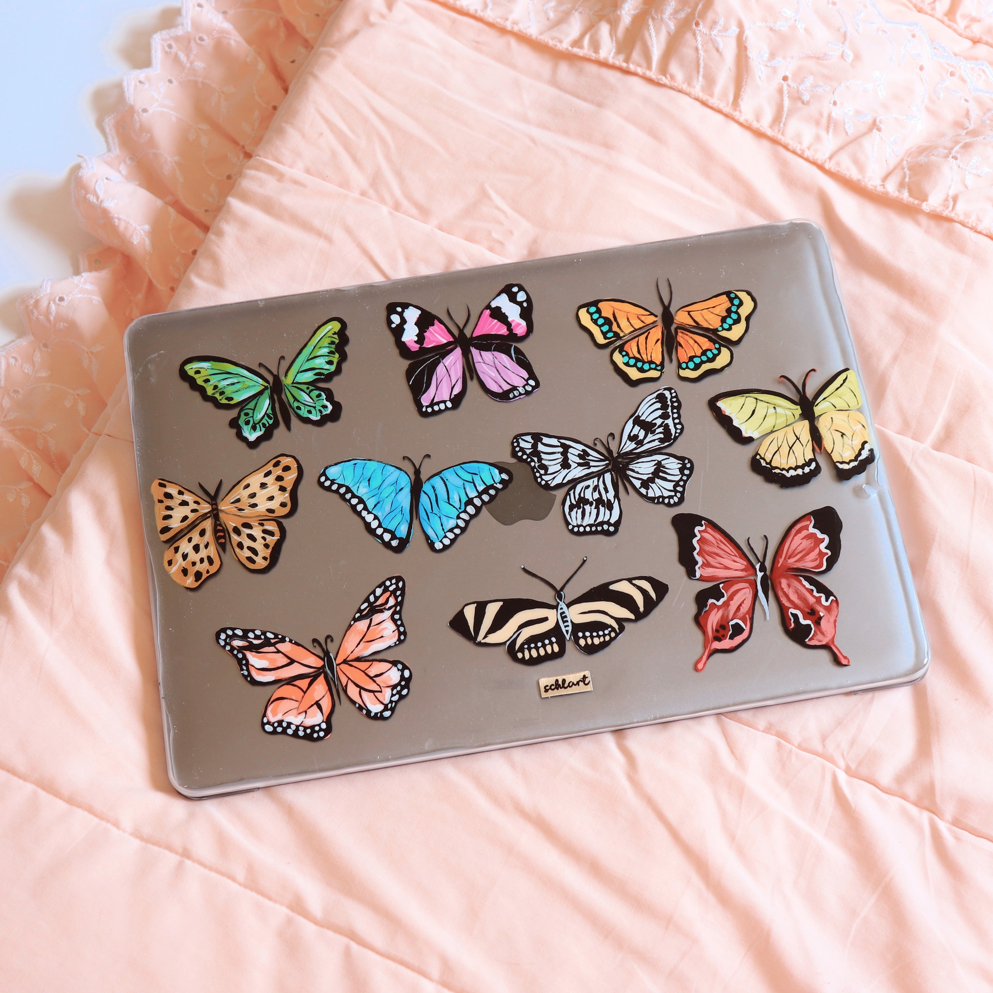 Lepidoptera Macbook case