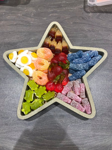 Sweet Filled Reusable Wooden Star - 20cm