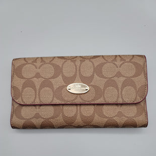 Primary Photo - BRAND: COACH O STYLE: WALLET COLOR: TAN SIZE: MEDIUM OTHER INFO: ** SKU: 115-115347-3799