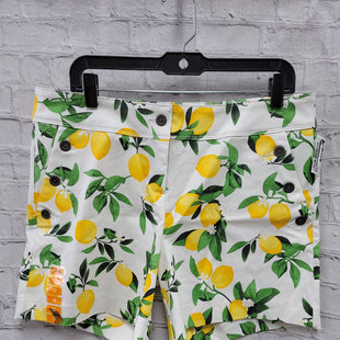 Primary Photo - BRAND: ISAAC MIZRAHI STYLE: SHORTS COLOR: WHITE SIZE: 12 OTHER INFO: LEMONS SKU: 115-115360-1406