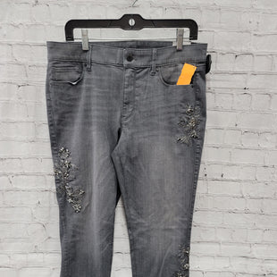 Primary Photo - BRAND: WHITE HOUSE BLACK MARKET STYLE: PANTS COLOR: GREY SIZE: 12 SKU: 115-115338-3481