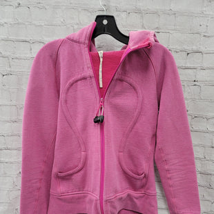 Primary Photo - BRAND: LULULEMON STYLE: SWEATSHIRT HOODIE COLOR: PINK SIZE: 10 SKU: 115-115360-2127