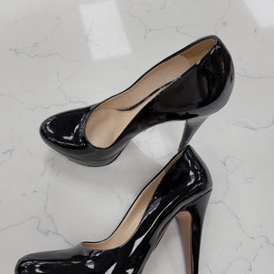 Primary Photo - BRAND: PRADA STYLE: SHOES DESIGNER COLOR: BLACK SIZE: 9.5 OTHER INFO: ** SKU: 115-115347-3906